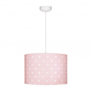 LAMPS&CO - LAMPA WISZĄCA LOVELY DOTS PINK