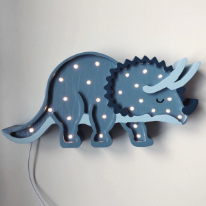 LITTLE LIGHTS - LAMPKA DINO TRICERATOPS