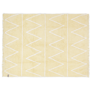 LORENA CANALS - DYWAN DO PRANIA W PRALCE HIPPY YELLOW 120X160 CM
