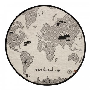 OYOY - DYWAN MAPA ŚWIATA - THE WORLD MAP