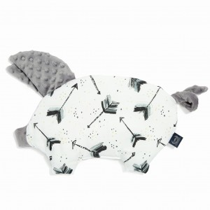 LA MILLOU - PODUSIA SLEEPY PIG - BOHO ROYAL ARROWS GREY
