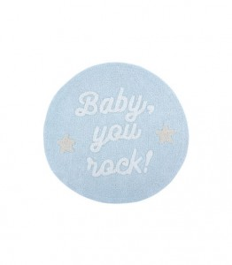 LORENA CANALS - DYWAN DO PRANIA W PRALCE BABY, YOU ROCK! 120 CM