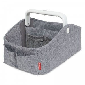 SKIP HOP - ORGANIZER Z LAMPKĄ HEATHER GREY