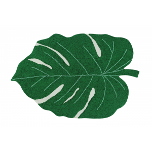 LORENA CANALS - DYWAN DO PRANIA W PRALCE MONSTERA LEAF 120x160 cm
