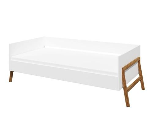 Bellamy Lotta łóżko 160x80 Cm Białe