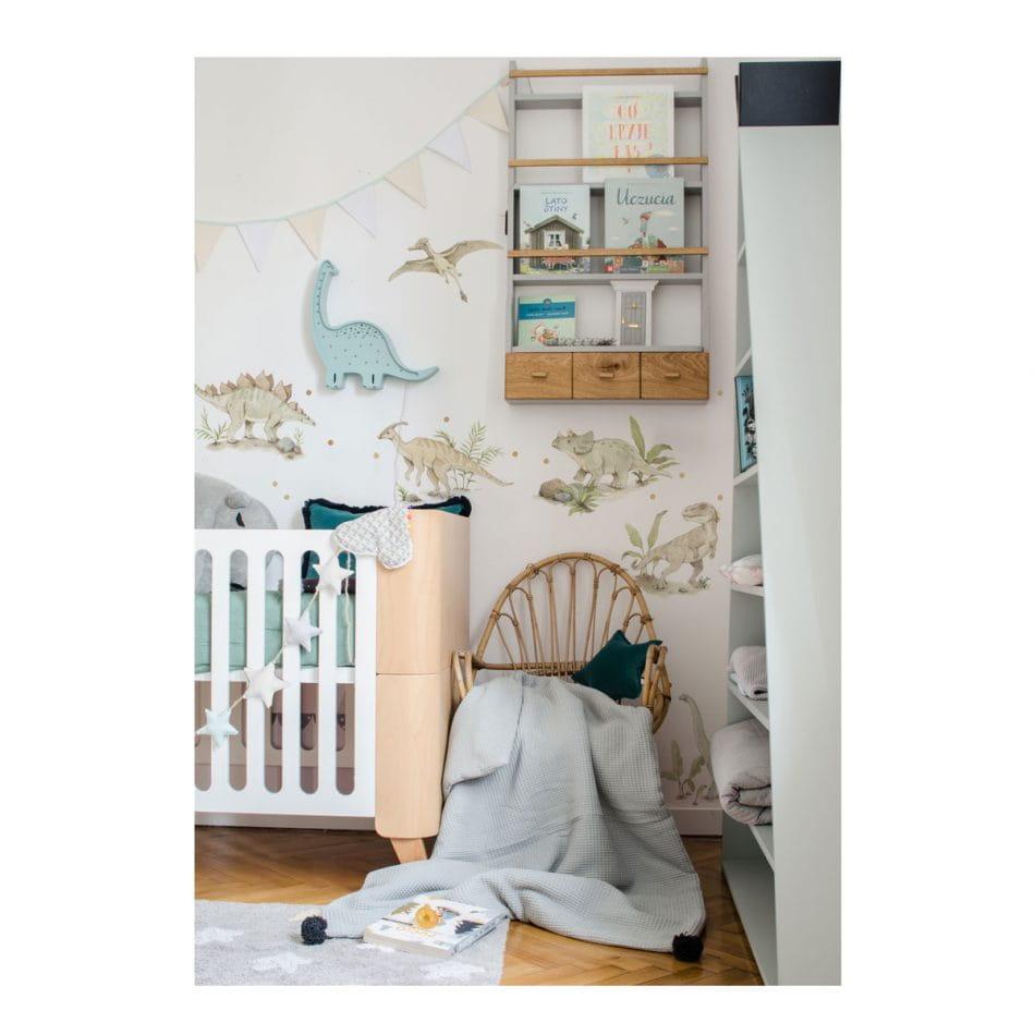Papel de parede decoraçao quarto de criança dinossauro