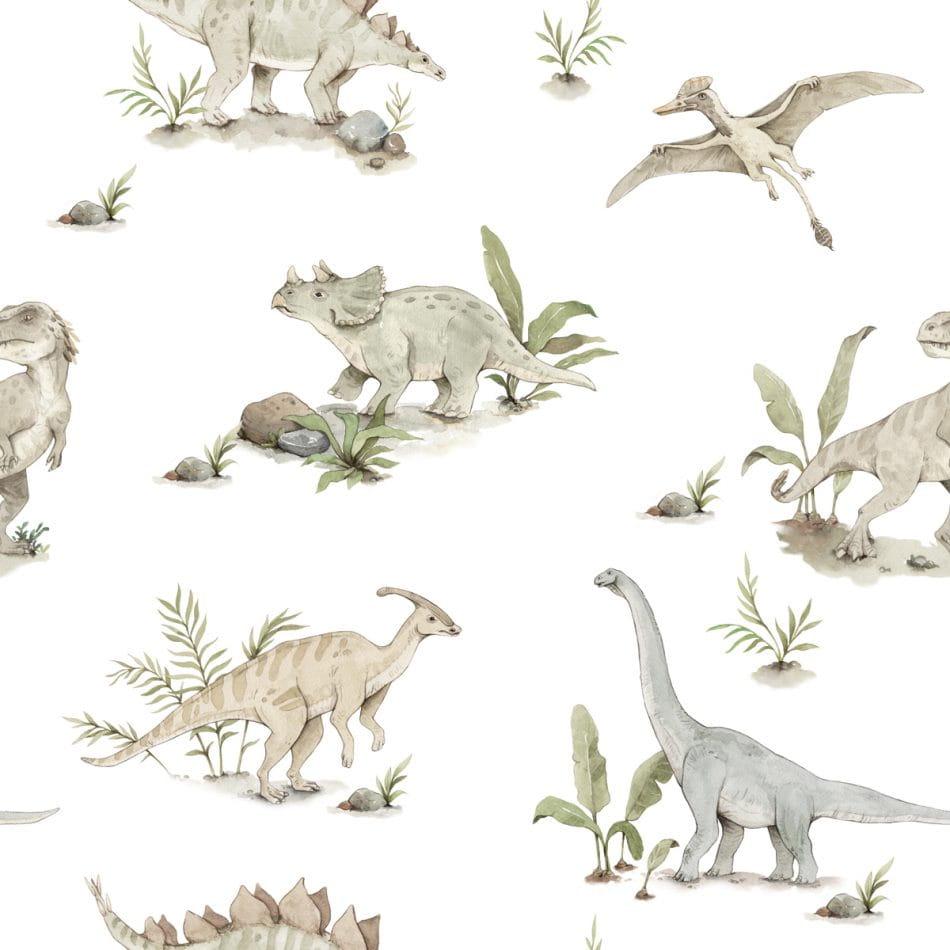 Papel de parede de dinossauro